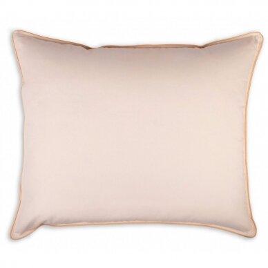 Žąsų pūkų ir plunksnų pagalvė su tiku (70%-pūkų, 30%-plunksnų) LUX ULTRA , 70x70 cm 4