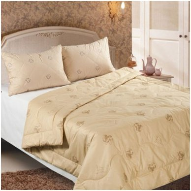 Žieminė antklodė su kupranugario vilnos užpildu (450 g/m²), 140x200 cm 6