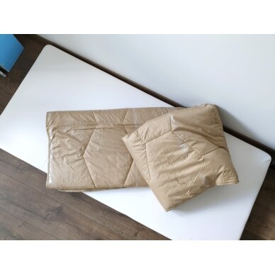 Žieminė antklodė su kupranugario vilnos užpildu (450 g/m²), 140x200 cm 4