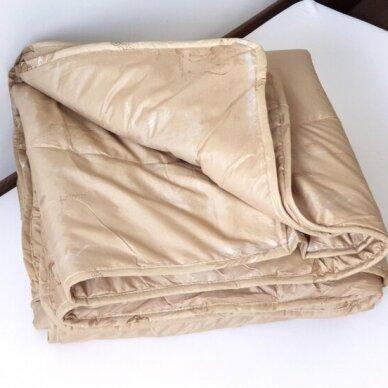Žieminė antklodė su kupranugario vilnos užpildu (450 g/m²), 140x200 cm 2