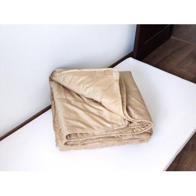 Žieminė antklodė su kupranugario vilnos užpildu (450 g/m²), 140x200 cm 3