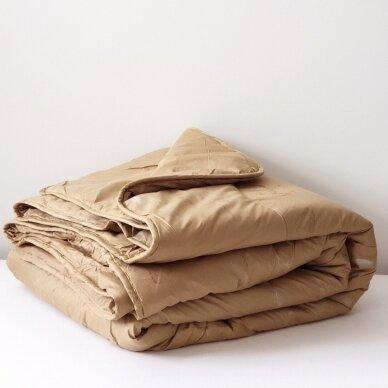 Žieminė antklodė su kupranugario vilnos užpildu (450 g/m²), 140x200 cm