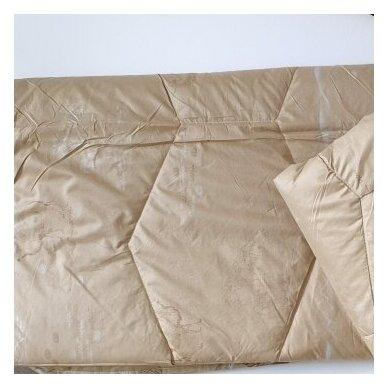 Žieminė antklodė su kupranugario vilnos užpildu (450 g/m²), 200x200 cm 3