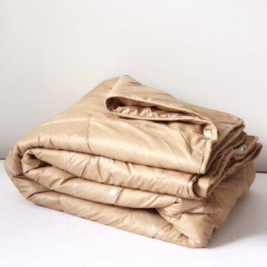 Žieminė antklodė su kupranugario vilnos užpildu (450 g/m²), 200x200 cm 4