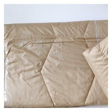 Žieminė antklodė su kupranugario vilnos užpildu (450 g/m2), 200x220 cm 3