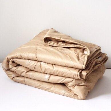 Žieminė antklodė su kupranugario vilnos užpildu (450 g/m2), 200x220 cm 4