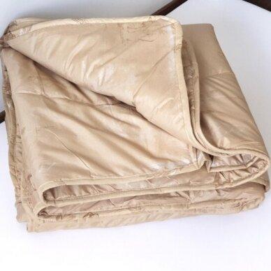 Žieminė antklodė su kupranugario vilnos užpildu (450 g/m2), 200x230 cm 2