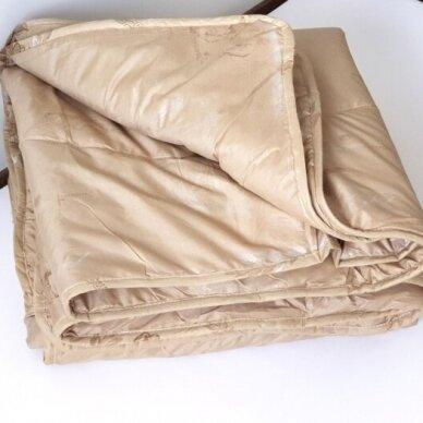 Žieminė antklodė su kupranugario vilnos užpildu (450 g/m2), 220x240 cm 2