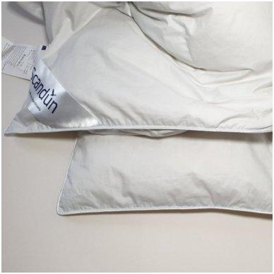 Žieminė pūkinė (90% pūkai-10% plunksnos) antklodė MORPHEUS, 100x140cm 3