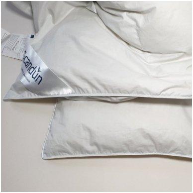 Žieminė pūkinė (90% pūkai-10% plunksnos) antklodė MORPHEUS, 200x220cm 4