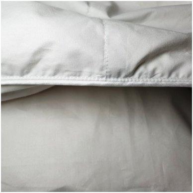 Žieminė pūkinė (90% pūkai-10% plunksnos) antklodė MORPHEUS, 220x240cm 5